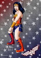 Wonder Woman by lizstaley
