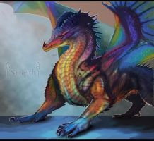 Dragon Of Opal by Decadia