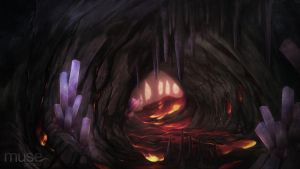 Creavures Background - Cave by musegames