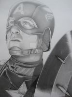 Captain America Final by corysmithart