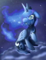 Princess Luna (Memories of the Moon) by MegaBlack0X