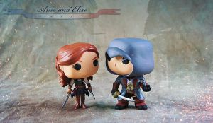Arno and Elise poppies by shatinn