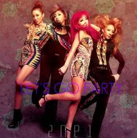 2NE1: Let's Go Party by Awesmatasticaly-Cool