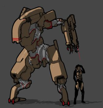 aia mech by Daemoria
