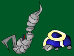 Sickle Snake And GLaPAgoS by sorrowscall