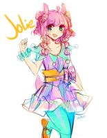Jolie the Alpaca by niaro
