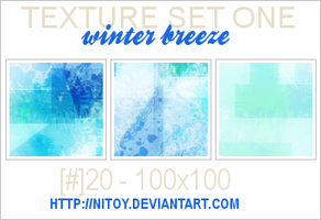 Texture Set 1: Winter Breeze by nitoy