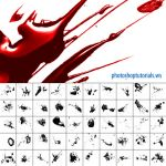 Glossy Blood Splatter by pstutorialsws