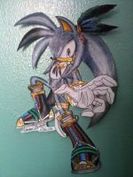 Me in Sonic Riders by ArestheHedgehog