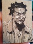 Crazy Eyes ACEO Sketch Card by MarshallPlex