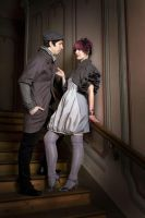 Baroque Couple by KittyTheCat-Stock