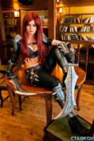 Promo for Starcon. Katarina by PlaySafeee