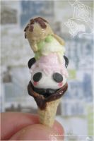 Panda Ice Cream by asuka-sakumo