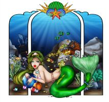 The Covetous Pisces - Colored by Mallagueta-Pepper