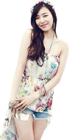 SNSD Tiffany [PNG] by Deerhansic