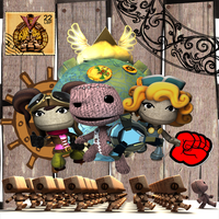 Little big planet 2 entry XD by kuro-tachi