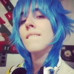 Trying the Wig - Aoba by shuichilove