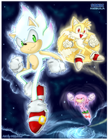 Sonic Nebula Hyper sonic returns by Midowko