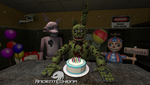 SFM: Foxy's Birthday Party (Greedy Springtrap) by AncientEchidna