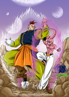 DBM chap 26 : South Kaioshin vs Buu by Fayeuh