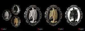 Skeleton cameo by Euflonica