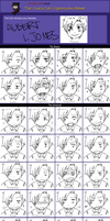 OOC: 005  Expression Meme by Germany-san
