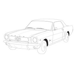 1964 Ford Mustand WIP by KloroPhil