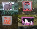Free art in the park by ytak87