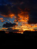 Cloudy Sunset in Cyprus -4- by IoannisCleary