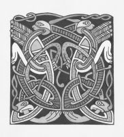 Celtic Animals_Book of Kells 2 by gforce7