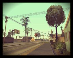 Walking in San Andreas [ pizzeria ] by XDmoney