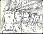 Sketchbook - easyJet to Athens by keiross