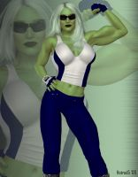 Ultimate She-Hulk by hotrod5