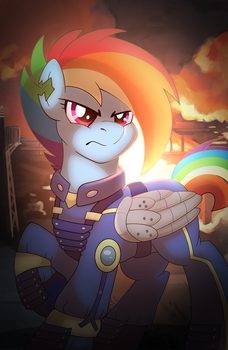 Apocalypse Rainbow Dash by artwork-tee