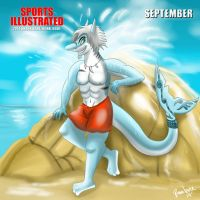 SI 2014 Shark Babe/Hunk Issue - September - Zars by The-B-Meister