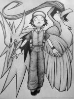 Twitch Plays Pokemon quickie fanart sketch by albinoshadow