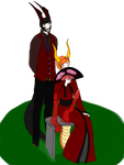Bow Down To The Queen And King { Redone } by TheGreatDragonsOfOoo