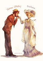 The Aristocats Humanized by Maby-chan