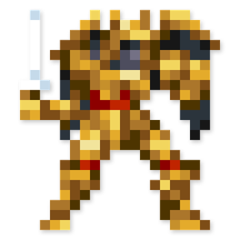 Day #57 - Goldar by JINNdev