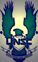 Customized UNSC logo by Nick004
