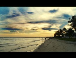 beautiful kemala beach by iyodeh