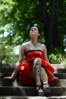 Red Satin 23 by Anariel-Stock