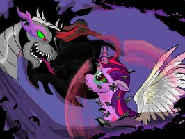 Twilight Sparkle- Queen of Shadows. MLP fan fic. by raggyrabbit94
