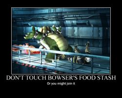 Bowser's Food Stash by hotjazz