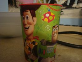 Toy Story cup by spidyphan2