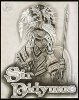 Labyrinth: Sir Didymus Portrait by Klyde-Chroma