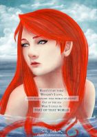 The Little Mermaid - Part of that World by alison90