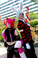 Otakon Cosplayers 2 by DarkGyraen