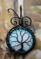 Blue Moon *SOLD* by RachaelsWireGarden