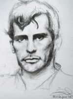 Jack Kerouac- 15 min Portrait by Syntik